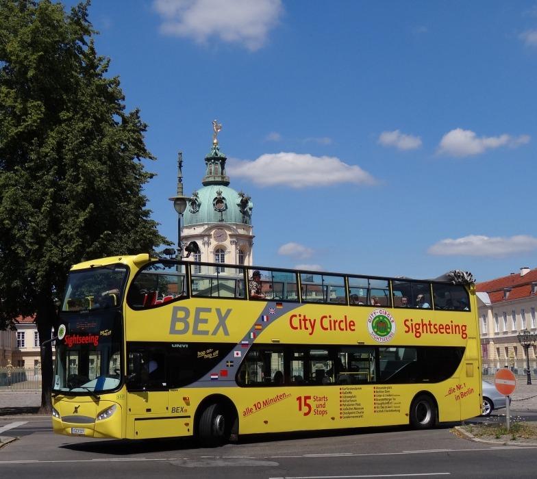 Der Tour Berlin Bahn Und Hotel